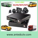 4CH 4G 3G GPS WiFi HDD Mobile DVR for Trucks