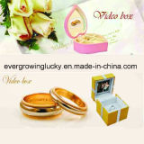 Hot Sale Romantic Video Jewel Box for Wedding Decoration