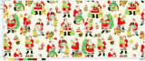 Hot Selling Polyester Christmas Designs Printed Mini Matt Fabic