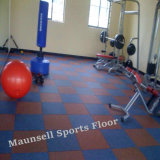 Gym Clue Weight Room Used Rubber/EPDM Tile / Flooring
