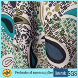 Chemical Fiber Printed Rayon Fabric for Lady Garments
