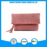 Wholesale Customized New Fashion PU and Purl Handbag