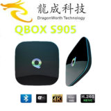 Latest Q Box Android TV Box 4k S905 Quad Core RAM 2GB ROM 16GB Bt Kodi 16.0 Smart TV Box Android 5.1 Support OEM