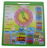 Wooden Calendar Educational Puzzle Wooden Toys (33244-1)