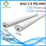 Cheap Waterproof IP65 White LED Linear Plastic Cover Tri Proof Lights for Station