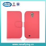 Wholesale PU Leather Mobile Phone Case Accessories for Samsung S4
