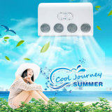 24V Solar Powered Mini Portable Vehicle Air Conditioner for Cars