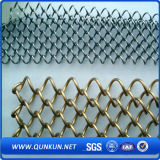 50mmx50mm PVC Coated Galvanized Chain Link Fence for Guard