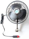 DC 12V Car Oscillating Fan with Metal+Plastic