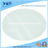 Oval Glass Chopping Board for Sublimation