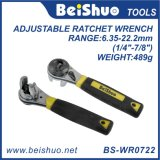 8′′ Adjustable Ratcheting Socket Wrench