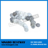 Strong Magnet for Handbags D12X5mm Nickle Coating
