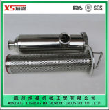 "2"" 304 Stainless Steel Sanitary Juice Clamped Angle Type Strainer"