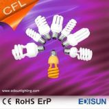Ce RoHS Approved Full Spiral T2 9W 11W 15W E27 Energy Saving Lamps