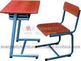 Ergonomic Single Student Table Design for School