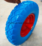 16X4.00-8 Wheelbarrow Flat Free Foam Tires