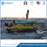 Comfortable Hydraulic Crawler Wide Chassis Pipelayer