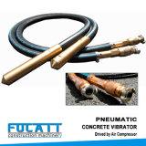 Pneumatic Concrete Vibrator PV55, Driven by Air Compressor