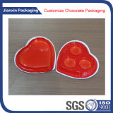 Disposable Heart Shape Chocelate Plastic Tray