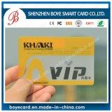 SGS Approved PVC VIP Card with Transparent Material