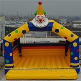 Inflatable Clown Bouncy House, Fun Fair Castle for Parties/Events (B1006)