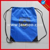 Cheap Custom Blue Drawstring Backpack Bag