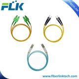 Fiber Optic Patch Cord Jumper Cable Pigtail Simplex Duplex Singlemode Multimode Om3 Om4 Sc/LC/FC/St/Mu/MTRJ/E2000/MPO/MTP/DIN/D4/Fddi Upc/APC/PC 0.9/2.0/3.0mm
