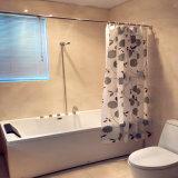 Chrysanthemum PEVA Shower Curtain for Bathroom