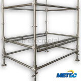 Hot DIP Galvanized Ringlock Scaffolding for Construction (SGS)