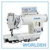 Wd-8452D Electronic High Speed Double Needle Lockstitch Sewing Machine