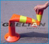 Flexible Lane Safety Bollard, Road Safety Delineators, Flexible Bollard