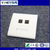 CAT6 Double RJ45 Wall Face Plate/Faceplate Network LAN