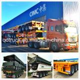 CIMC 3 axles flatbed trailer