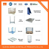 Factory Equipment Converter Steel Tyre Rack Cage Pallet Wire Mesh Decking Roll Cage