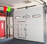 High Speed Door Made in China/ Overhead Sectional Door with Ce Certification
