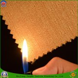 Coating Waterproof Flame Retardant Woven Polyester Blackout Curtain Fabric
