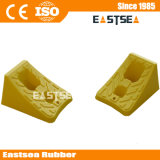 Yellow Color Recycled Plastic Wheel Chock