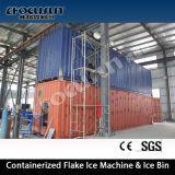Containerized 60ton Seawater Flake Ice Machine / Flake Ice Maker