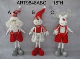 "28""H Christmas Decoration Gift Cute Standing-3asst"