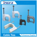 Plastic Cable Holder Clips for Indoor Wiring