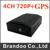H. 264 Realtime 4 Channel SD Card GPS Mobile DVR