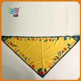 Custom Printed Cotton Scarf for Decoration (HYS-AF041)