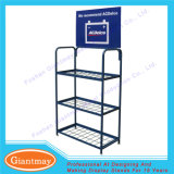 Wholesale 3 Tier Metal Wire Battery Display Rack