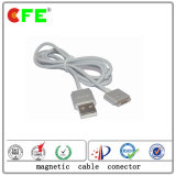White 4pin Magnetic Cable Connector for Charge