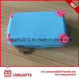 New Style Mini Suitcase Shape Silicone Pouch Purse/Coin Bag