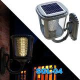 Solar Powered LED Garden Light Wall Lamp Outdoor Lighting IP65