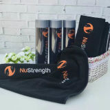 """Standard 30*110cm / 12*43"""" Sports Towels Quick-Dry Cotton Solid Gym Towel"""