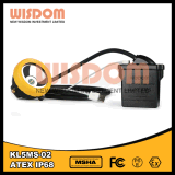 Wisdom Kl5ms-02 IP68 Explosion Proof LED Miner Cap Lamp, Safety Headlamp