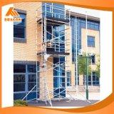 Double Width Aluminum Scaffolding, Climb Ladder Scaffolding, Scaffold Tower (SDW-01)