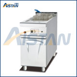 Gh975 Gas Fryer with 1 Tank 1 Basket with Cabinet